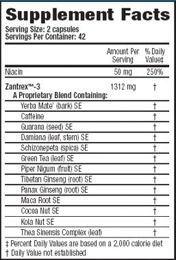 Zantrex-3 ingredients