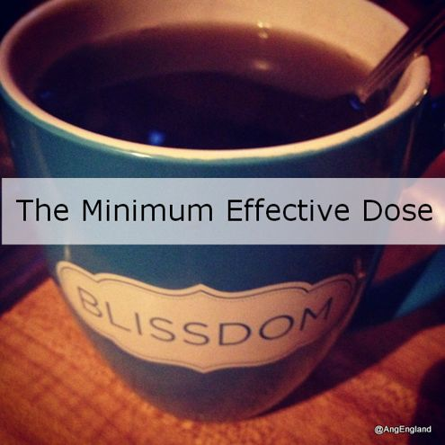 The-Minimum-Effective-Dose