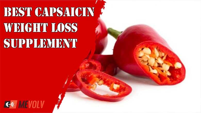 The Best Capsaicin Weight loss Supplement on The Market - MeVolv