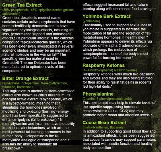 Grenade Thermo Detonator Ingredient 1