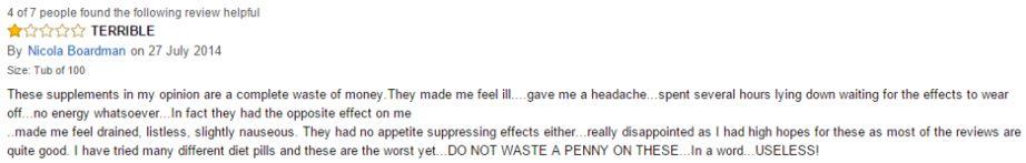 Grenade Thermo Detonator bad review
