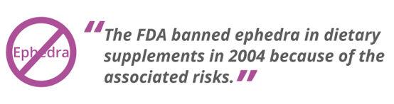 FDA VS Ephedra