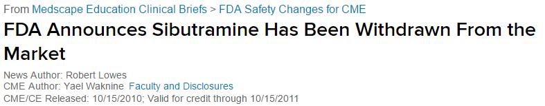 FDA_Sibutramine