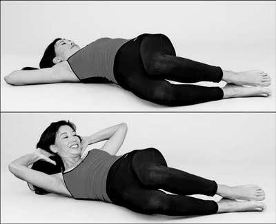 Bent Knee Side Crunch