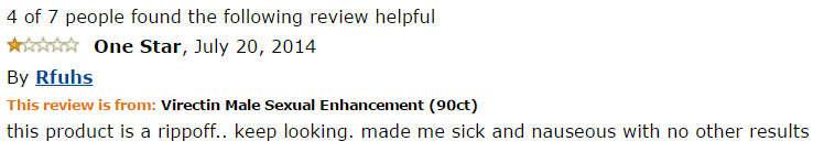 Virectin amazon reviews
