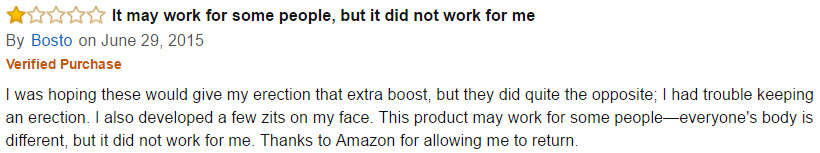 Virectin amazon user reviews 2