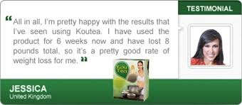 Kou Tea slimming tea testimonials