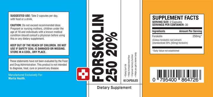 forskolin250 weight loss pills