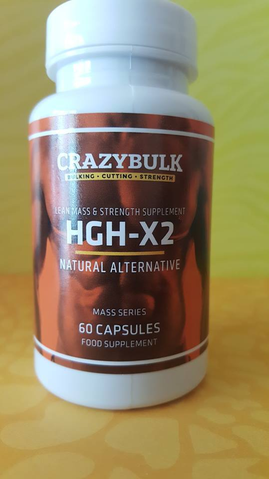 what is HGH-x2 Crazy bulk