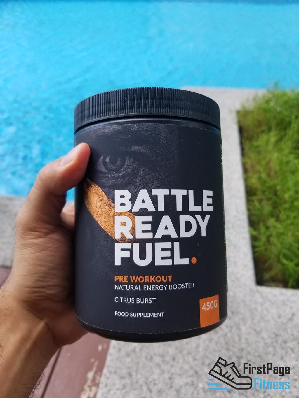 Battle Ready Fuel Preworkout