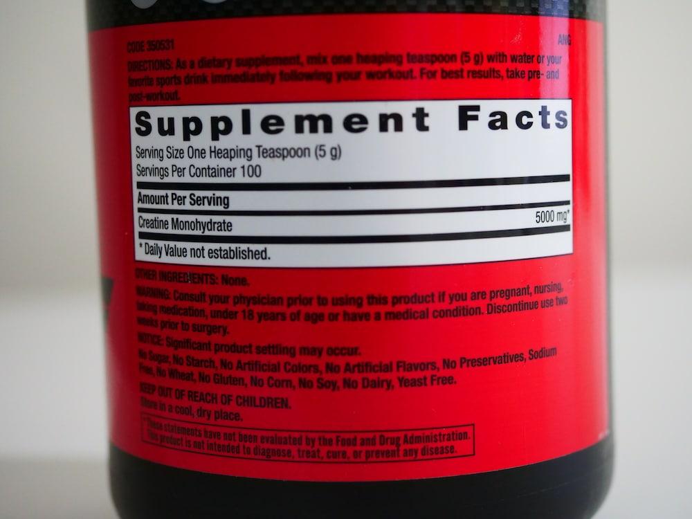 Gnc Creatine Supplement