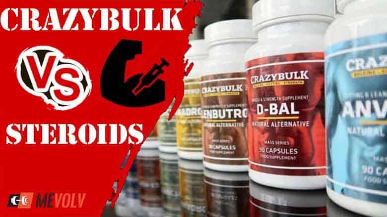 CrazyBulk Vs Steroids