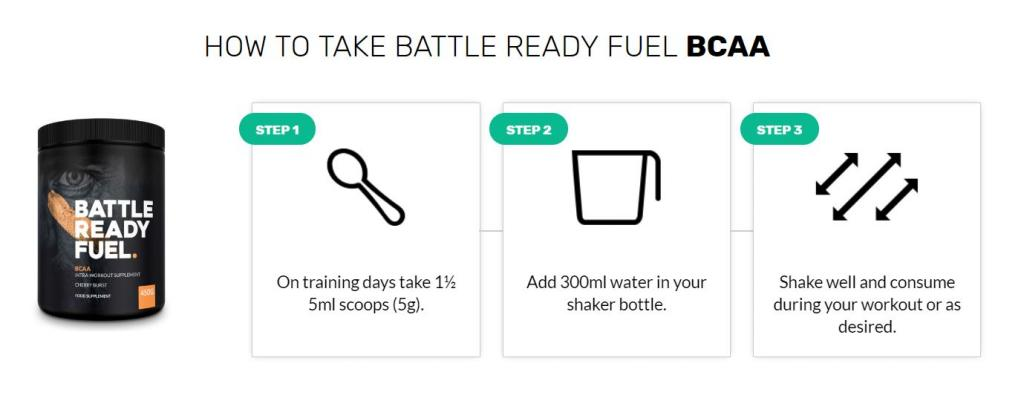 how to use BCAA