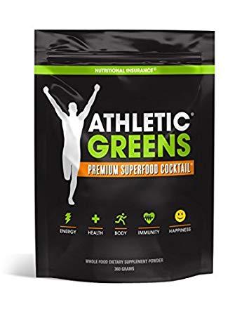 Athletic Greens premium superfood cocktail