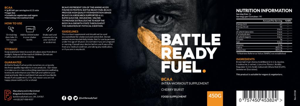 BCAA top rated Battle ready fuel