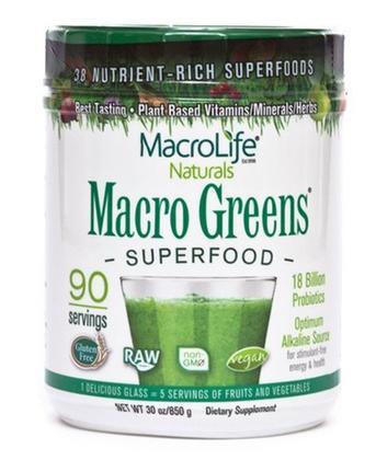 Macro Greens raw green superfood new
