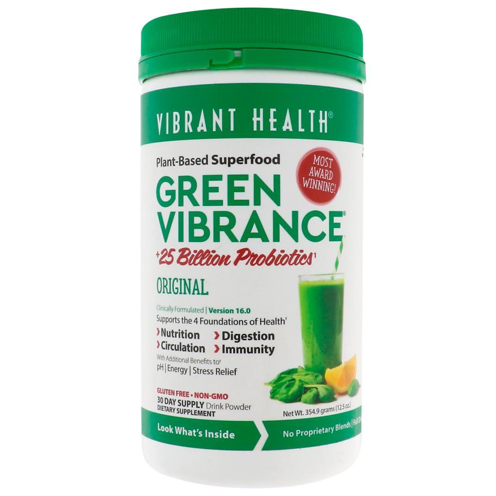 Vibrant health plant-based superfood